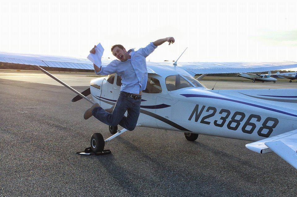 happy private pilot