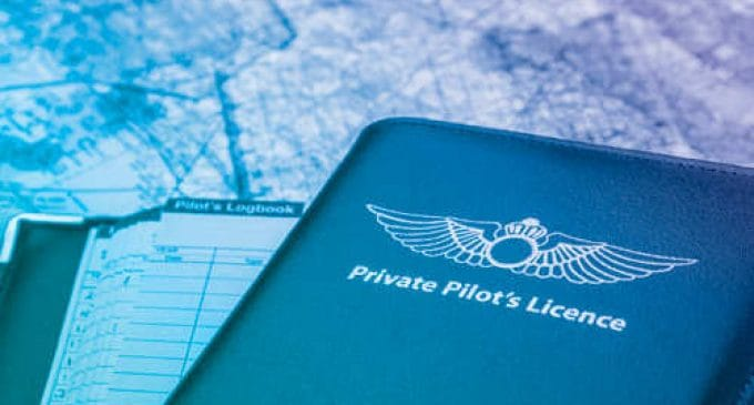 Private Pilot's License Logbook